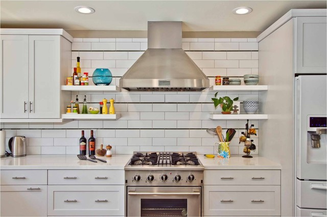 eclectic kitchen by Jackson Design & Remodeling