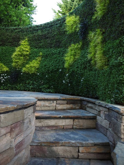Spa Living Wall - Contemporary - Patio - portland - by ... on Green Wall Patio id=13258
