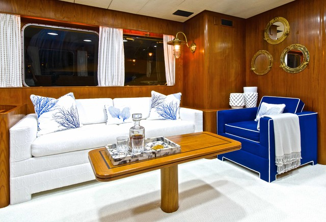 Aventura Yacht Beach Style Living Room Miami By