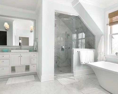 Carrara Marble Shower Houzz