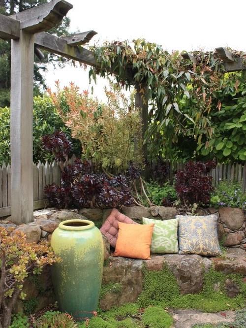 Best Garden Nook Design Ideas & Remodel Pictures | Houzz on Backyard Nook Ideas id=95890