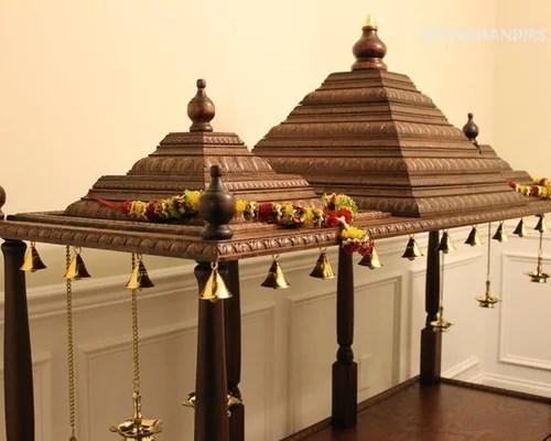 Contemporary Pooja Mandir Home Design Ideas Renovations