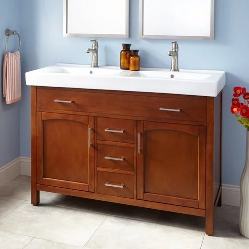 to double sink vanity w