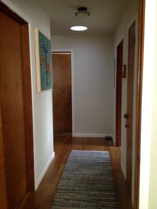 Interior Doors Paint White Or Replace With White Panel Door