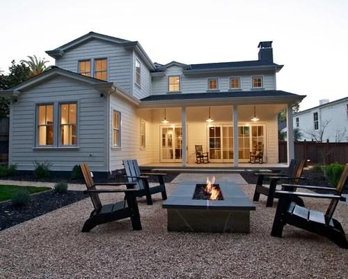 Farmhouse Patio Design Ideas, Remodels & Photos | Houzz on Farmhouse Yard Ideas id=37526