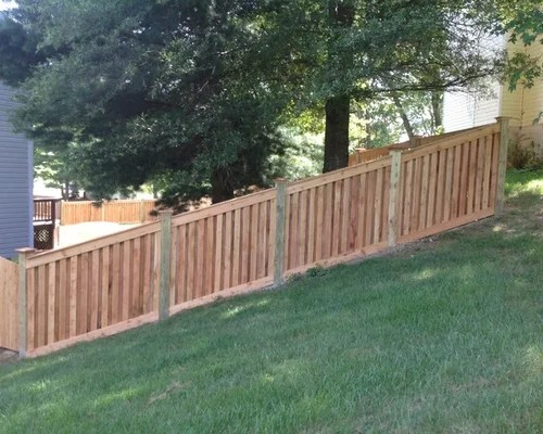 Shadow Box Fence Houzz