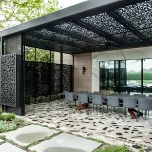 75 Most Popular Midcentury Modern Patio Design Ideas for ... on Mid Century Modern Patio Ideas id=99268