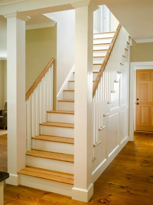 Farmhouse Staircase Design Ideas Remodels Amp Photos