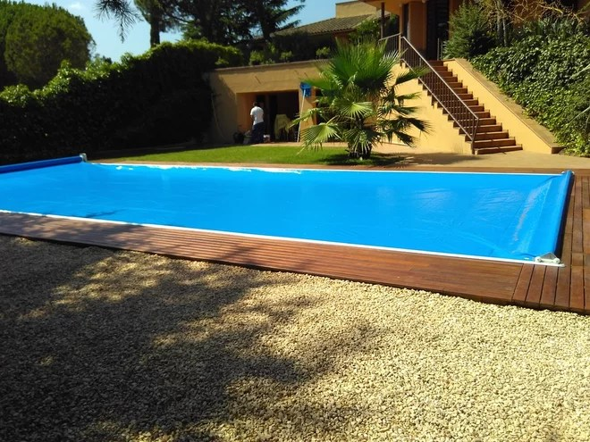 Contemporáneo Piscina by CoverApool - Cubiertas de piscinas