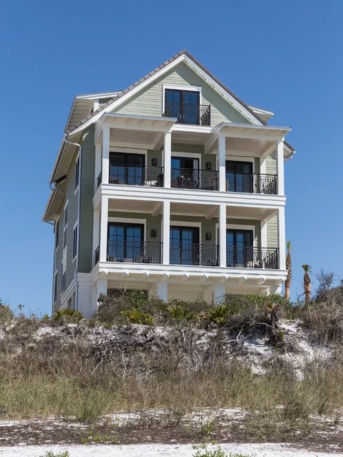 Beachfront House Houzz