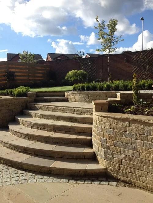 Split Level Garden Home Design Ideas, Renovations & Photos on Split Garden Ideas id=92304