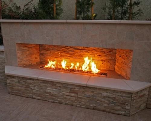 Outdoor Gas Fireplace Home Design Ideas, Pictures, Remodel ... on Outdoor Gas Fireplace For Deck id=36711