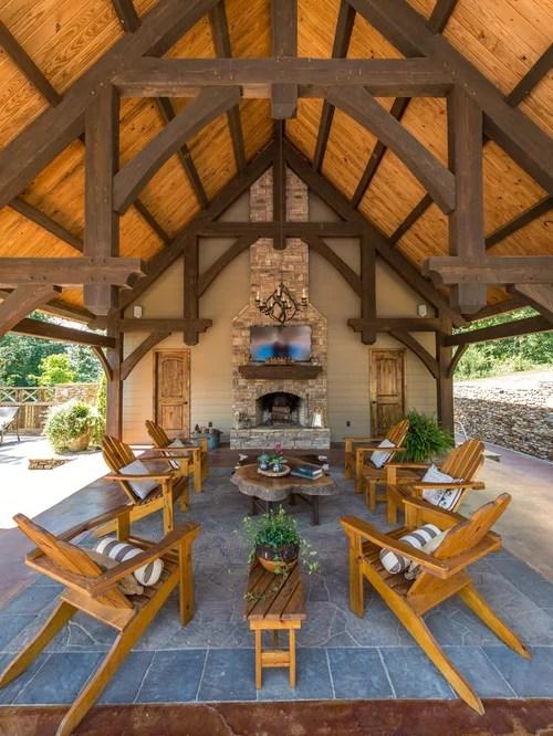 Rectangular Backyard Design | Houzz on Rectangular Backyard Design id=74808