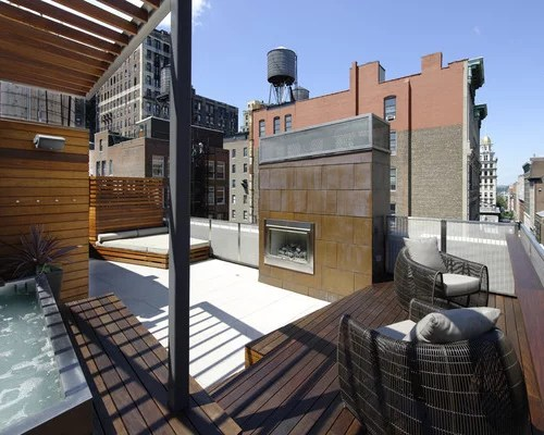 Modern Outdoor Living Space | Houzz on Houzz Outdoor Living Spaces id=86928