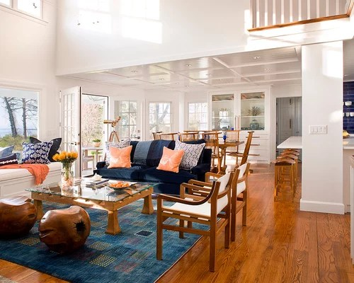 Blue And Coral Ideas, Pictures, Remodel And Decor