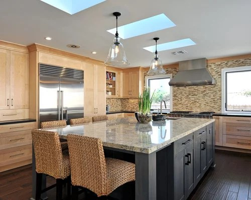 Natural Maple Cabinets Home Design Ideas, Pictures ... on Natural Maple Cabinets  id=90049