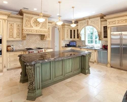 Kitchen Island Ornate Corbels