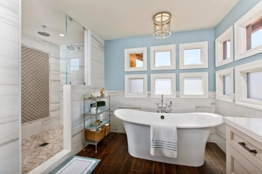 Transitional Bathroom by THE PLACE for Kitchens & Baths