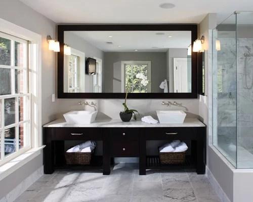 Bathroom Mirror Lighting Houzz Kokols Double Sink Vanity