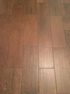 porcelain wood tile grout color light