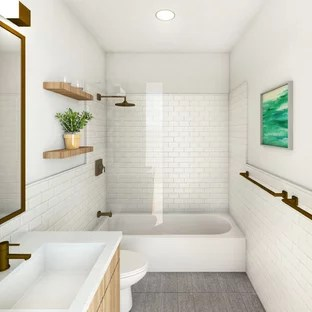 75 Beautiful Small Modern Bathroom Pictures & Ideas - July ... on Bathroom Ideas Modern Small  id=42564