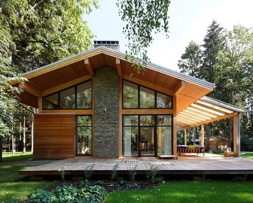 Gable Overhang Patio Home Design Ideas, Pictures, Remodel ... on Backyard Overhang Ideas  id=59315