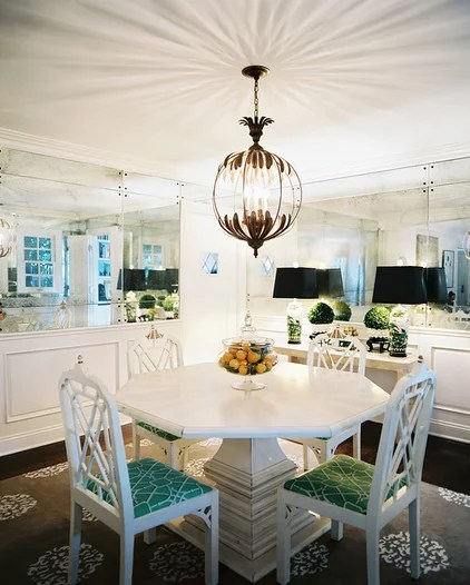 Eclectic Dining Room by Hillary Thomas Designs