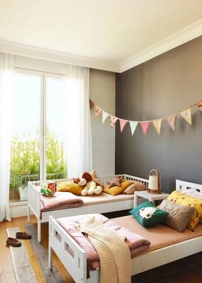 Nórdico Dormitorio infantil by MERITXELL RIBÉ - THE ROOM STUDIO