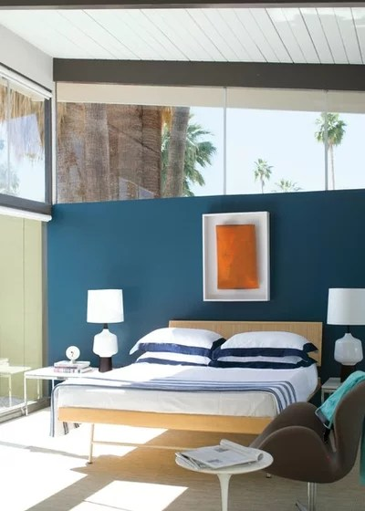Contemporary Bedroom by Benjamin Moore