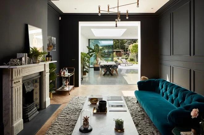 Transitional Living Room by BTL Property