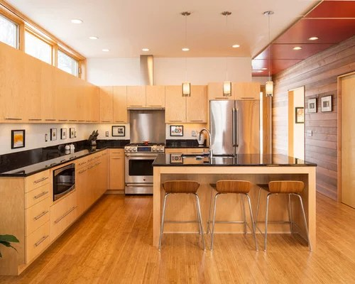 Natural Maple Kitchen | Houzz on Natural Maple Cabinets  id=53669