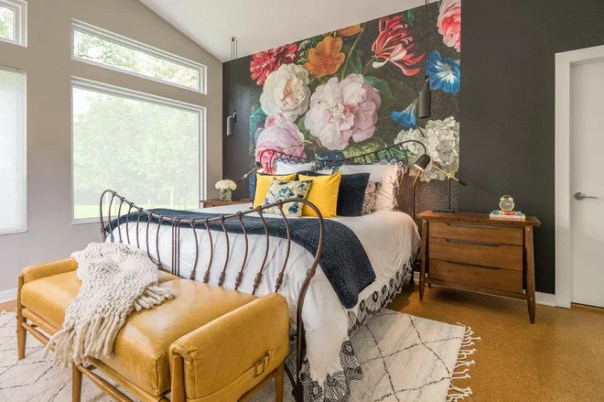 Eclectic Bedroom by eleven11DESIGN