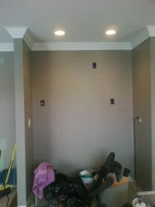 Please help  I ve taken 50 shades of gray to a whole new level  We used Behr Fashion gray  my primary concern was that it stayed gray and  didn t turn blue or taupe  very pleased with the results