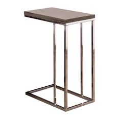 Coaster Accent Table Dark Gray Finish 902877