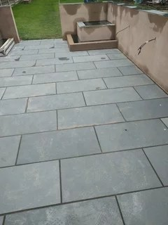 slate patio filthy and its new