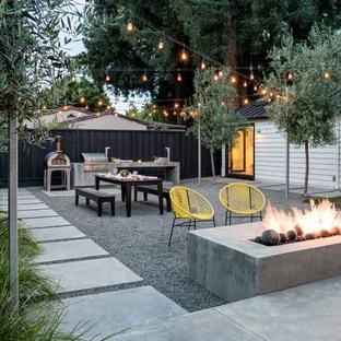 Pea Gravel Patio Ideas And   Houzz on Backyard With Gravel Ideas id=63626
