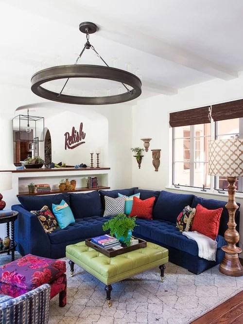 Navy Blue Sofa Houzz