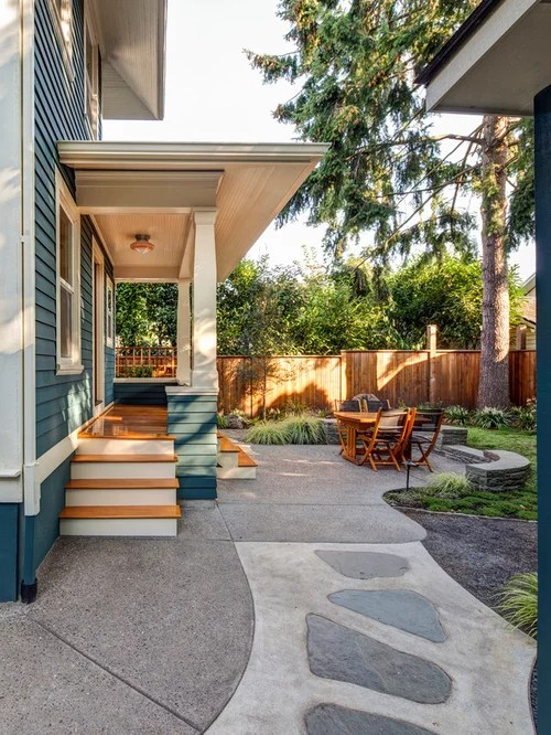 Cheap Easy Patio Ideas   Houzz on Houzz Backyard Patios  id=66994