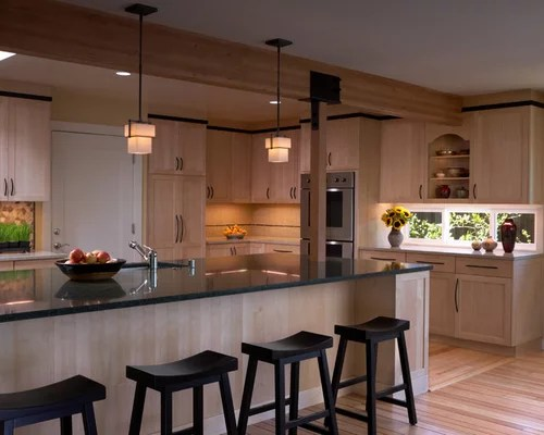 Natural Maple Shaker Cabinets | Houzz on Natural Maple Cabinets  id=53870