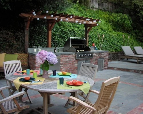 Grill Station And Pergola | Houzz on Patio Grill Station  id=20525