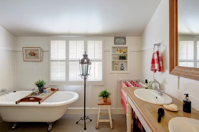 Eclectic Bathroom by Shotglass Photography