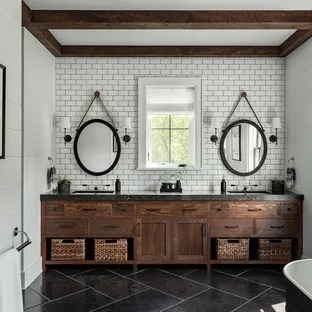 White Cabinets With Black Countertop Bathroom Ideas ... on Bathroom Ideas With Black Granite Countertops  id=50143
