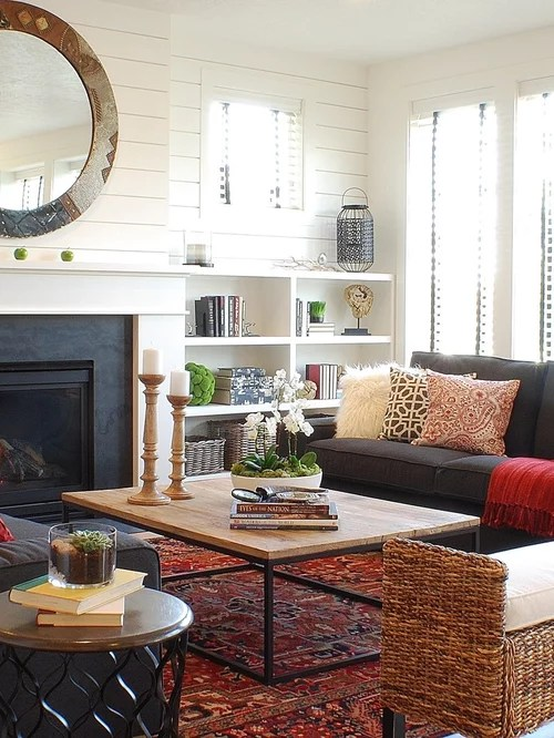 small living room design ideas remodels photos houzz on colors for farmhouse living room id=59548