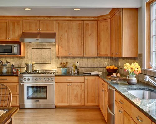 Maple Cabinets Home Design Ideas, Pictures, Remodel and Decor on Maple Cabinets Kitchen Ideas  id=11729