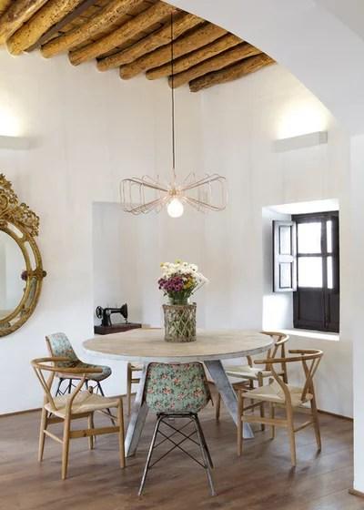 Mediterranean Dining Room by Colectivo Verbena