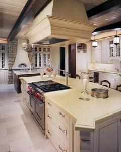 island cooktop with pot filler
