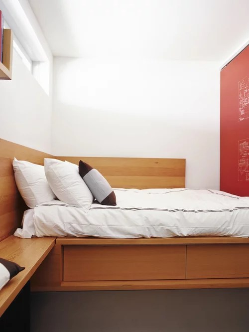 Very Small Bedroom Home Design Ideas, Pictures, Remodel ... on Very Small Bedroom Ideas  id=78472