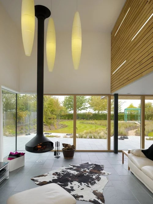 Floating Fireplace Design Ideas Amp Remodel Pictures Houzz