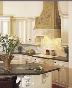Need Examples Of Black Or Chocolate Glaze Over White Cabinets