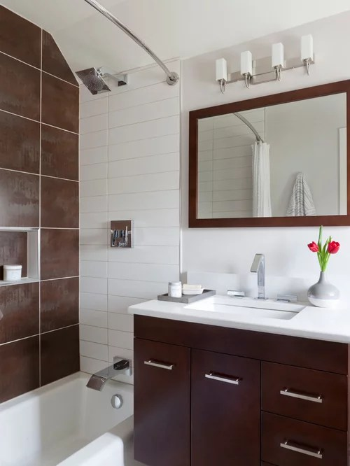 Small Modern Bathroom | Houzz on Modern Small Bathroom  id=36208